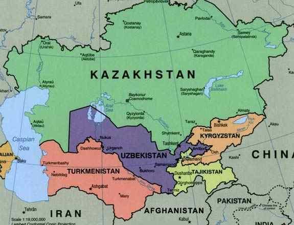 üzbegisztán térkép Kitiltották a karácsonyt az üzbég tv ből « Csepel.info