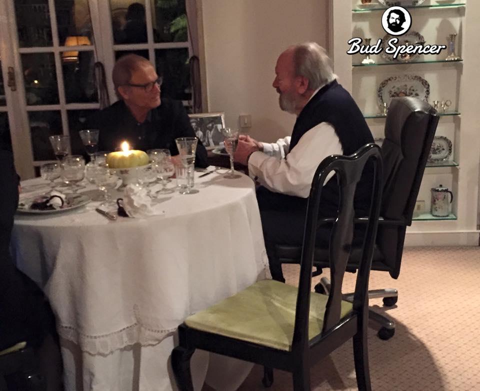 Terence Hill is meglátogatta születésnapján