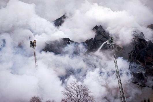 Történelmi tűzvész a legnagyobb orosz könyvtárban