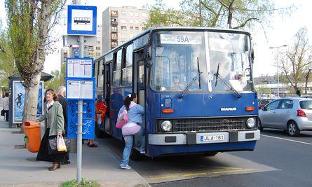 59/A busz Csepelen