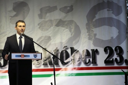 Borbély Lénárd polgármester október 23-án elhangzott emlékező beszéde