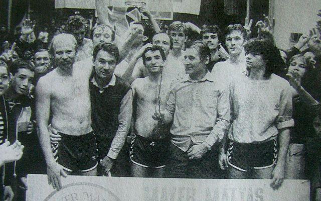 25 éve nyert bajnokságot a Liptai-csapat