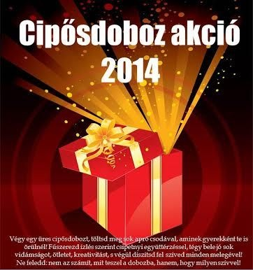 Cipősdoboz akció 2014