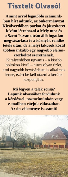 Csepeli Hírmondó - felhívás