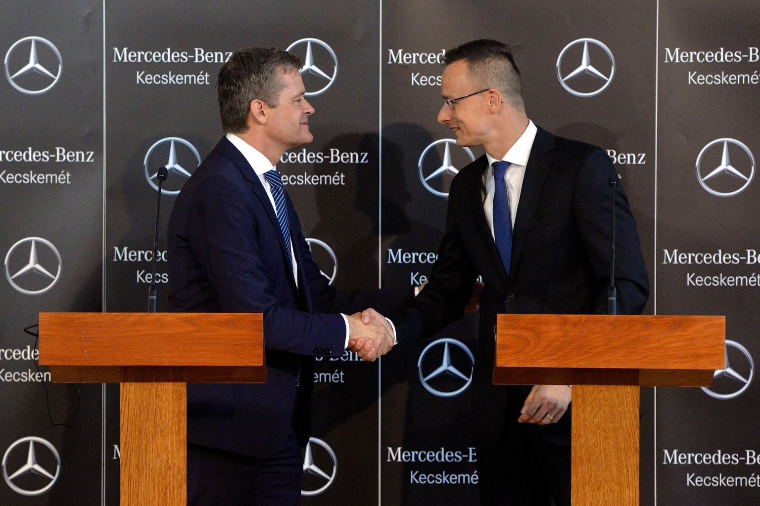 Gigaberuházást hoz Kecskemétre a Mercedes