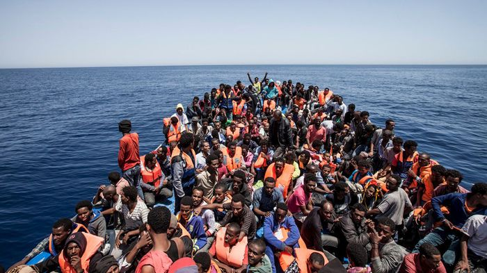 Eritrean-and-Other-African-Migrants-Crossing-Mediteranean-sea