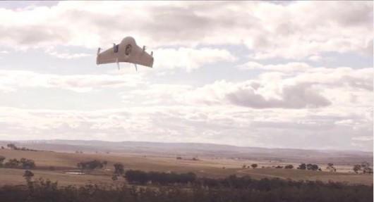 Csomagszállító drónflotta kiépítésén dolgozik a Google