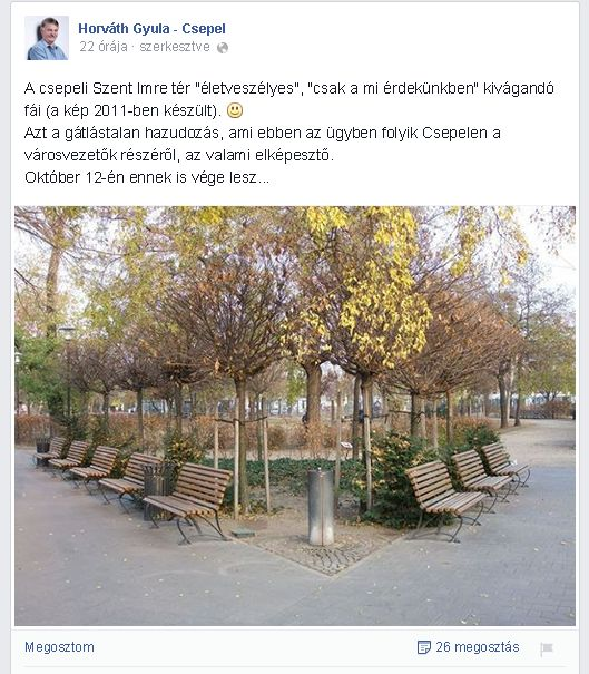 Horváth Gyula hazugsága