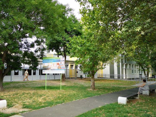 Visszaköltözhettek a háziorvosok a felújított Táncsics Mihály utcai rendelőbe