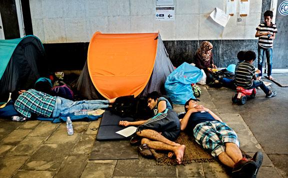 Németország nem indít különvonatokat a menedékkérőknek