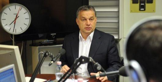 Orbán Viktor: Brüsszelt csak népszavazással lehet megállítani