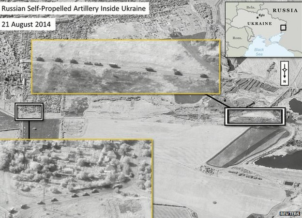 Orosz katonák vannak Ukrajnában