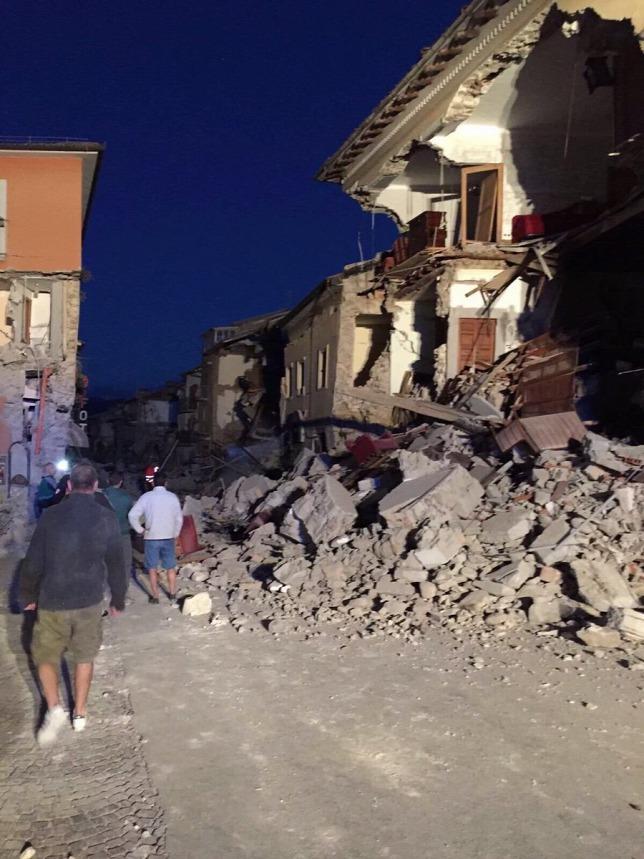 Pusztító földrengés volt Olaszországban