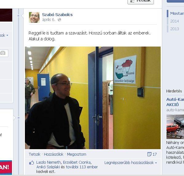 Szabó Facebook