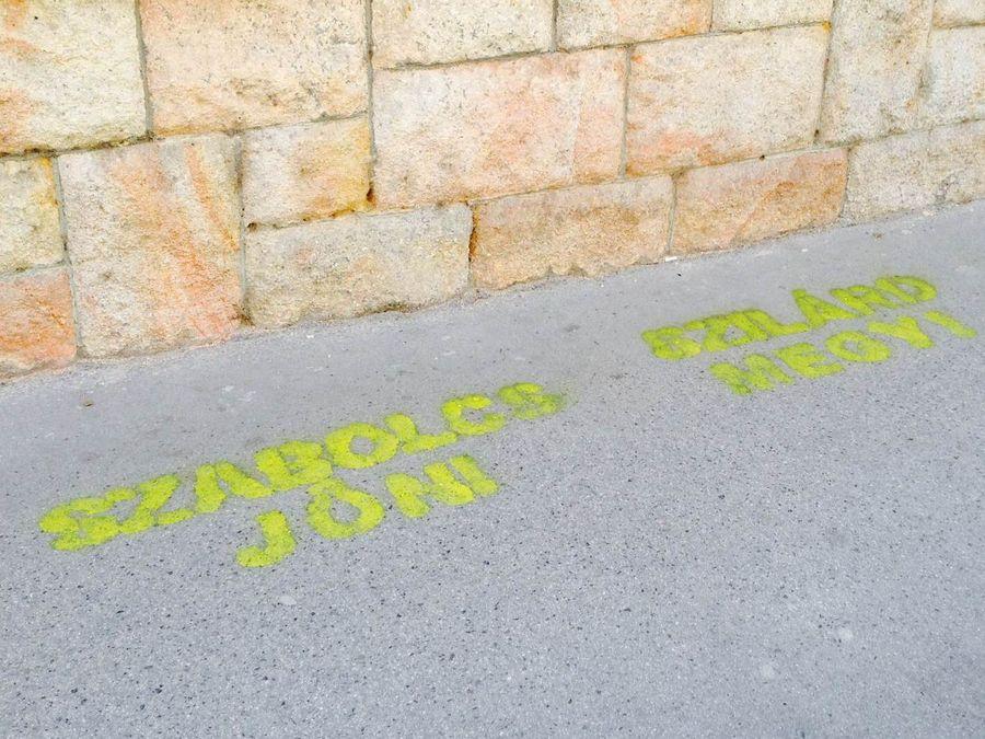 Szabó Szabolcs graffiti