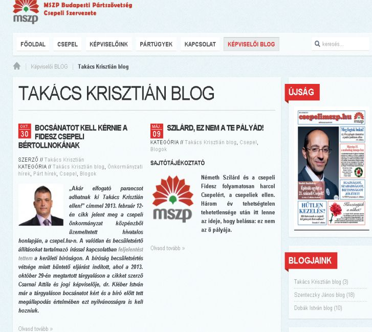 Takács Krisztián blogja kép