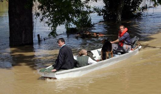 Rendkívüli állapotot hirdettek Horvátországban is