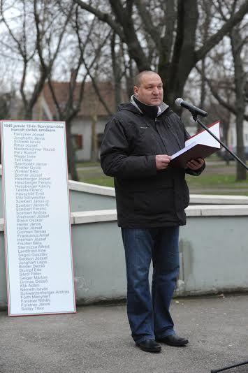 Németh Szilárd emlékező beszéde a kommunizmus áldozatainak emléknapján