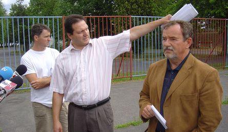 Csepel SC sajtótájékoztató 2007 júliusában
