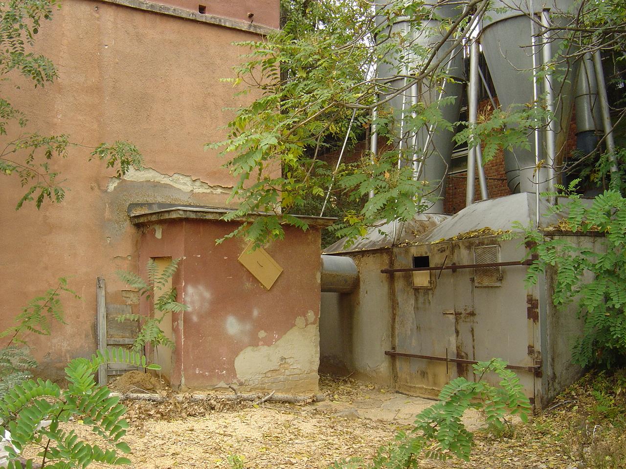 Bunker bejárat