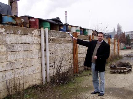 Németh Szilárd és a csepeli galvániszap 2004