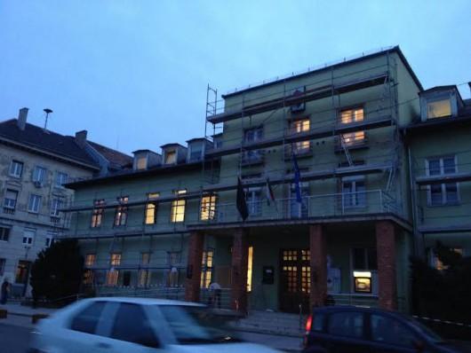 Megújul a csepeli polgármesteri hivatal