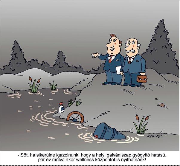 Nepszabadsag karikatura