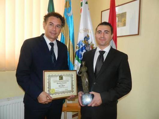 Pro Urbe díjat vehetett át Nagyszalontán Borbély Lénárd