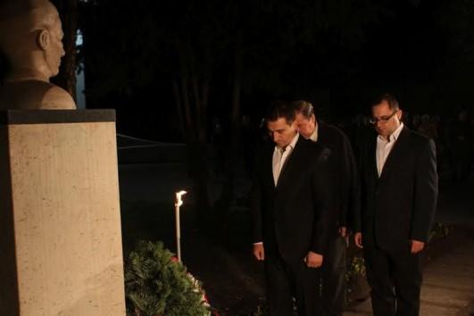 Radnóti Miklósra emlékeztek halálának 70. évfordulója alkalmából