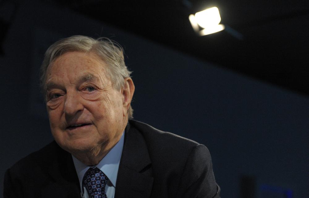 Soros György (Fotó: Europress/AFP)