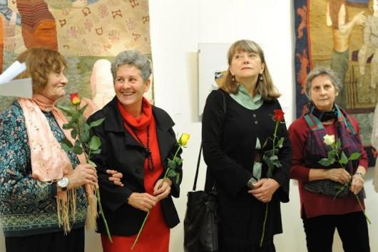 Négy textilművész kiállítása a Csepel Galériában