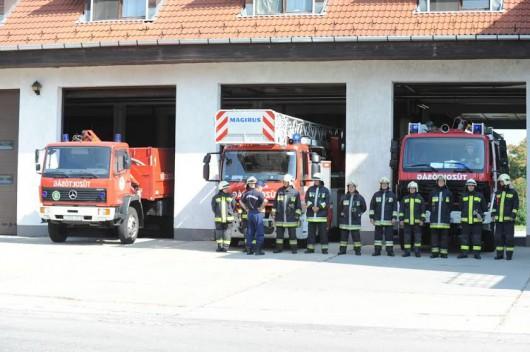 Emlékezés a hősi halott tűzoltókra